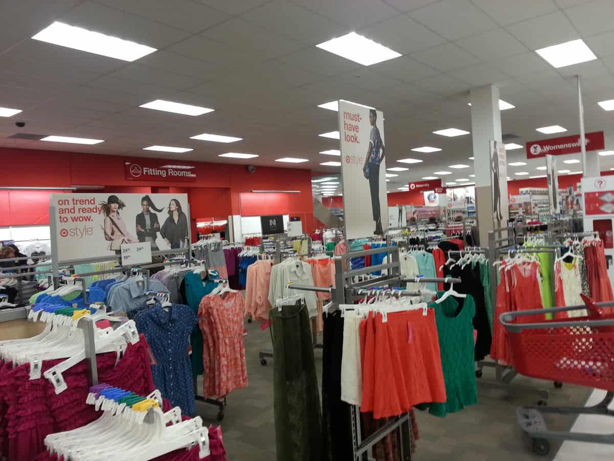 Target Canada Womenswear Department