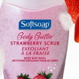 Softsoap Body Butter: Strawberry Scrub