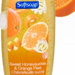 Softsoap Fragrance: Honeysuckle and Orange Peel