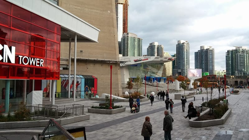 Ripley's Aquarium of Canada, right beside the CN Tower.
