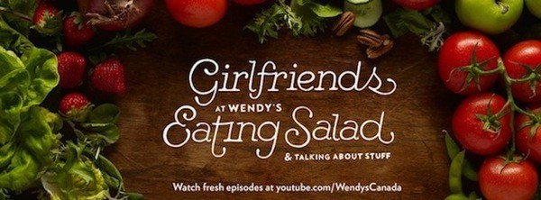 Wendy's Girlfriends Eating Salads