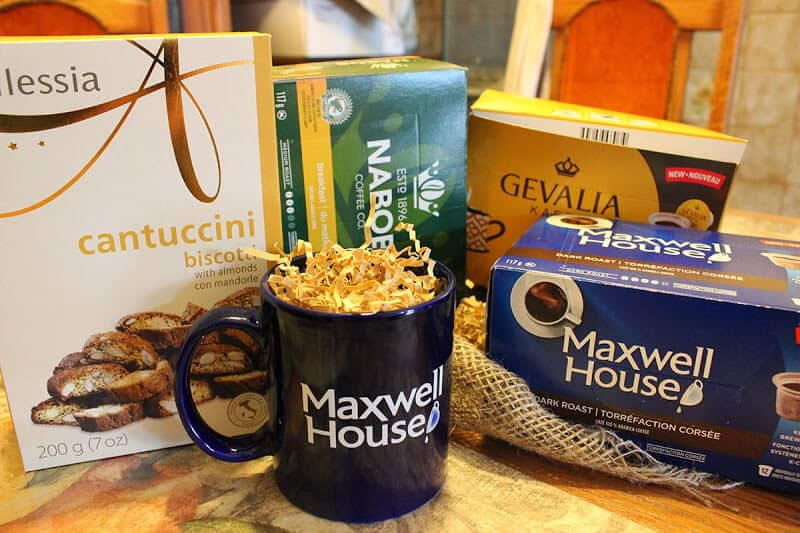 Kraft Nabob Maxwell Gevalia all available for Keurig