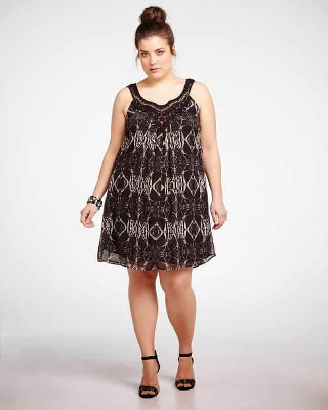 Addition Elle's Crochet Print dress $89.99