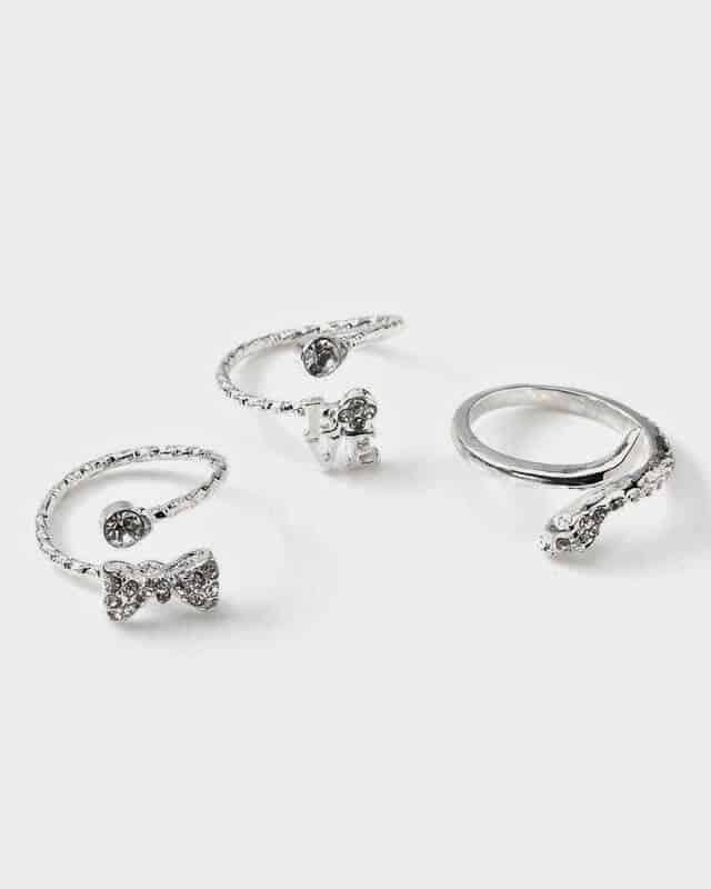 Addition Elle: Midi Trio Rings