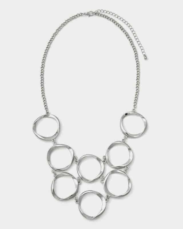 Addition Elle: Hoop Necklace