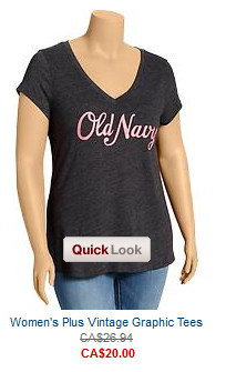 Old Navy Plus Sized Tee