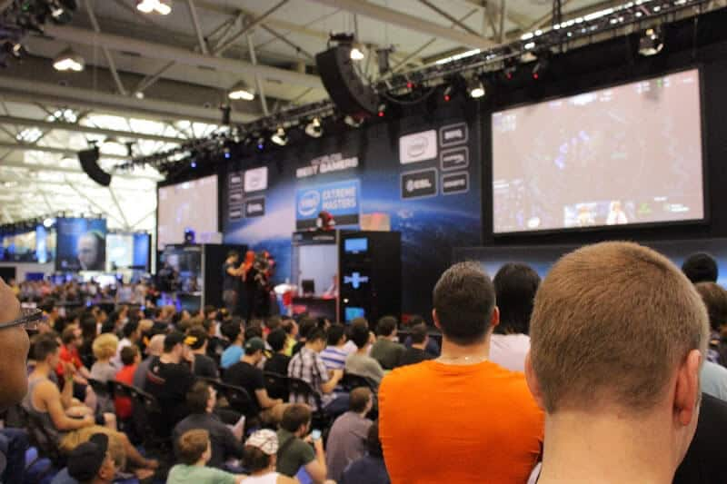 Intel Extreme Masters event at FanExpo