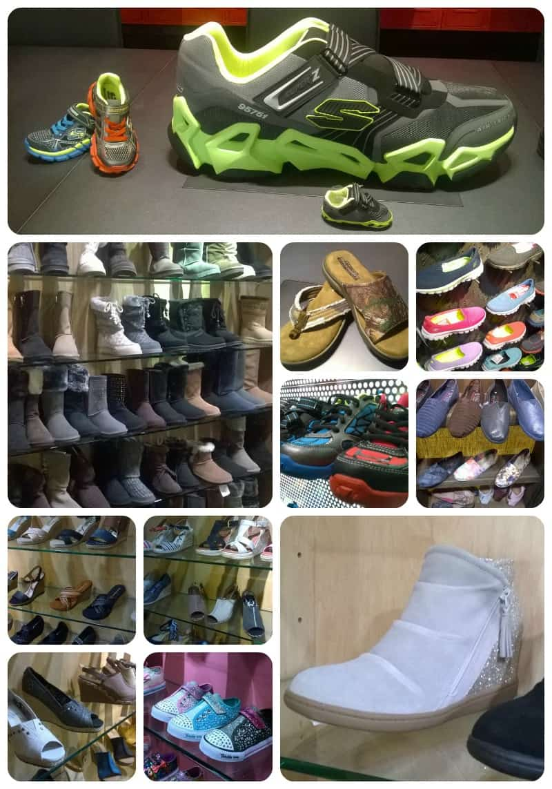 Many Shoes to Enjoy at Skechers Headquarters
