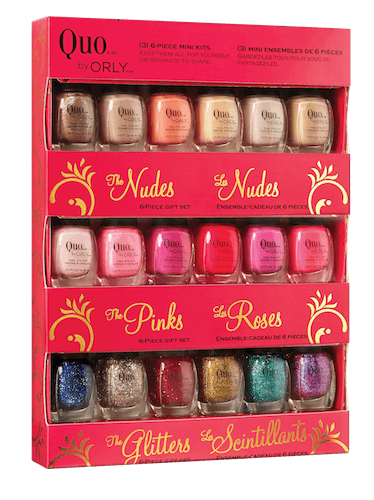 Quo by Orly 18 piece Mini Nail Polish Set