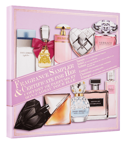 Fragrance Sampler & Certificate Collector's Edition For Her