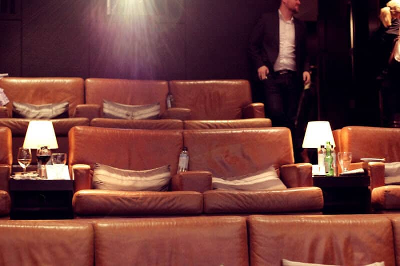 Hazelton Hotel in Toronto - private screening room. #Want
