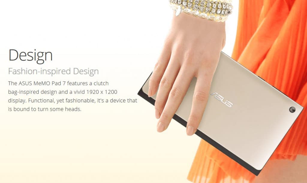 The Style Conscious ASUS MeMO Pad 7""