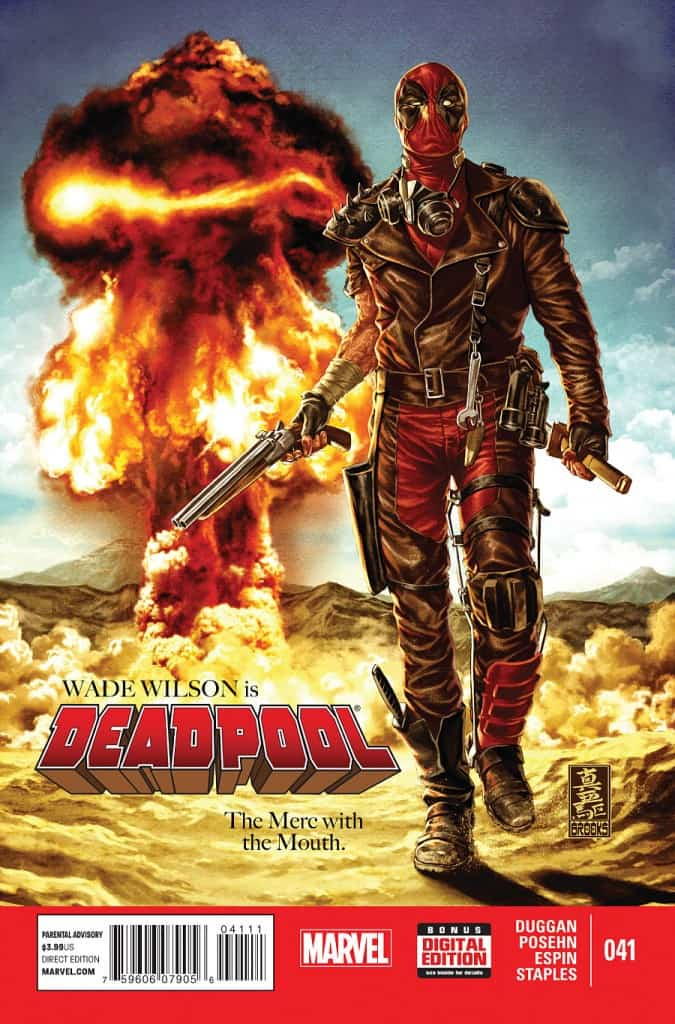 Deadpool has been through a lot recently...he needs to relax. Time for a good, old fashioned, simple merc job. Deadpool in the Middle East. Should be nice and uncomplicated.