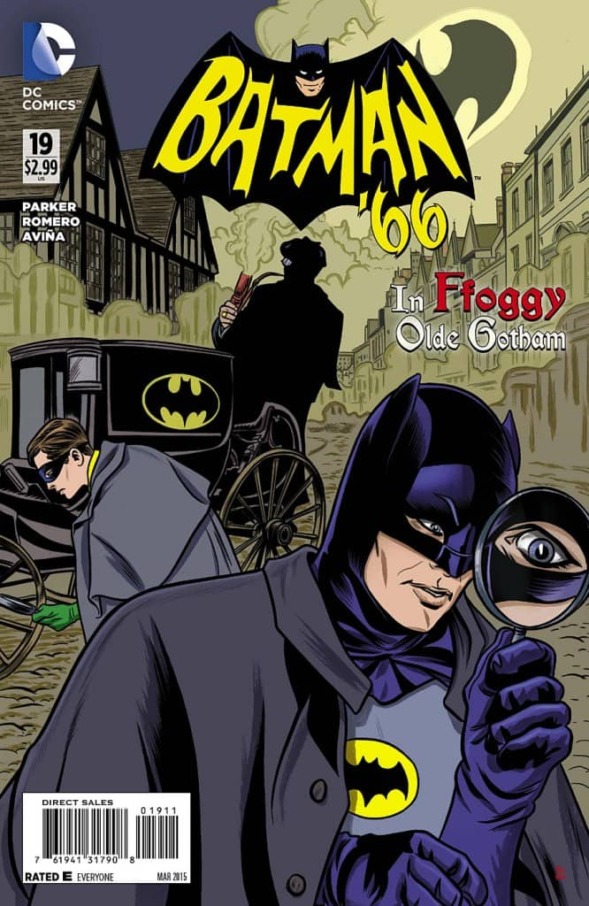Batman '66 #19 - pure gold