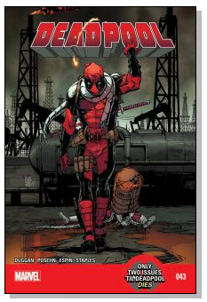 DeadPool #43 Cover #NewComicBookDay