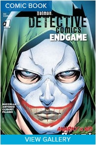Detective Comics: Endgame #1 #NewComicBookDay