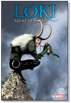 #NewComicBookDay Loki 012 cover