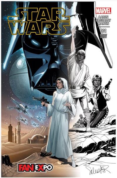 TCC Star Wars Exclusive 001 Cover