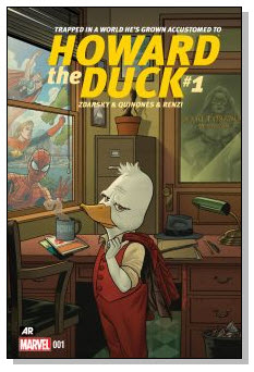 Howard the Duck #1 Cover #NewComicBookDay