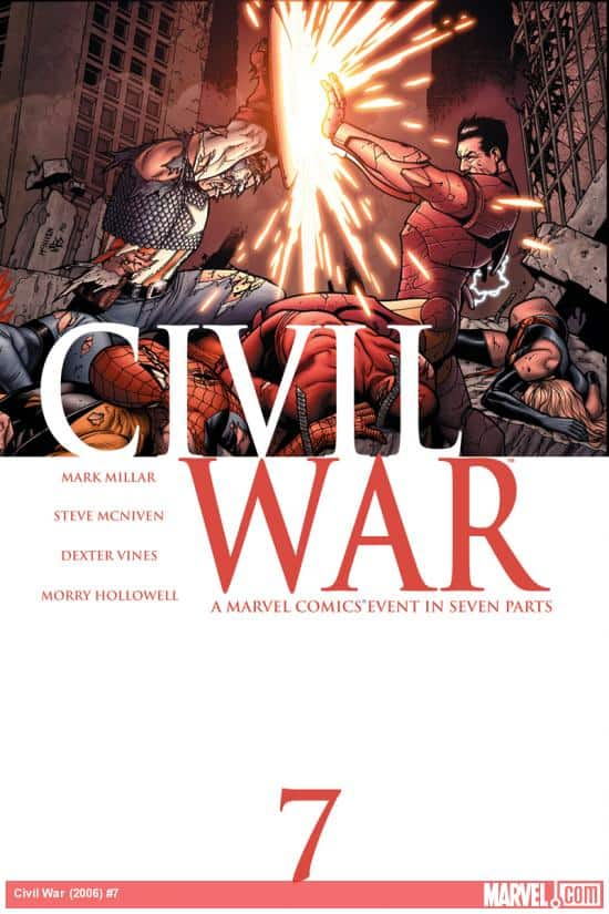 Marvel Comic Civil War #7