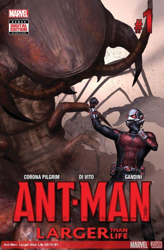 Marvel's Ant Man #1 2015 w/ Hank Pym