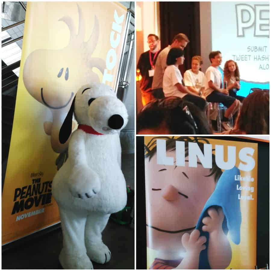 Peanuts Movie Q&A Lunch
