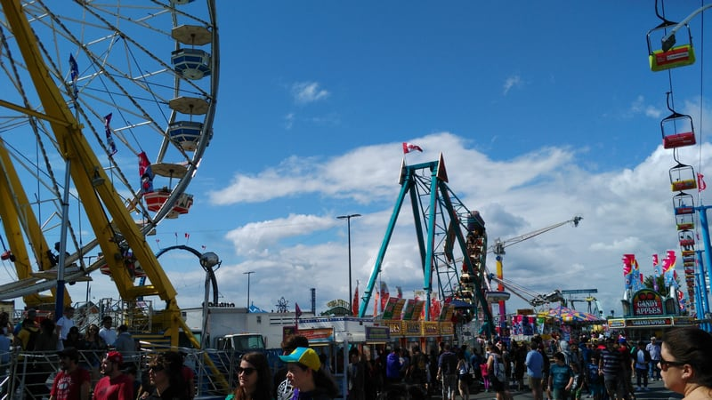 CNE - The Ex Amusement Rides