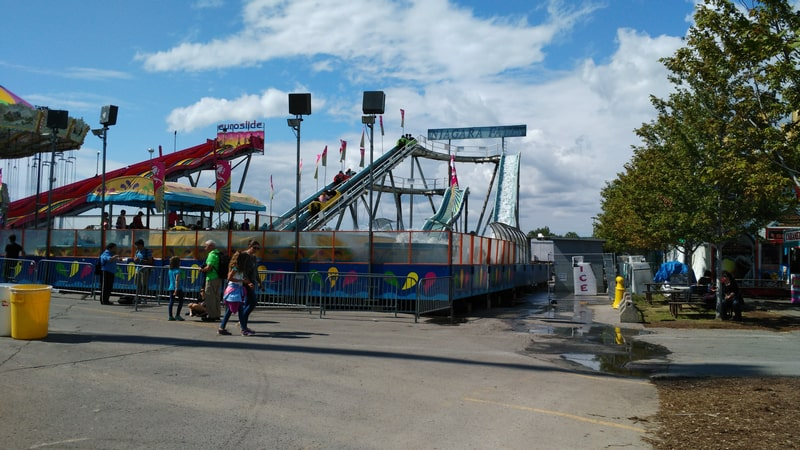 "CNE - The Ex Amusement Ride ""Niagara Falls"""