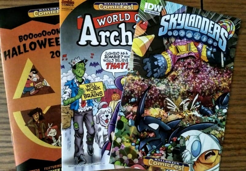 Halloween ComicFest Comics from Boom, Archie and Skylanders