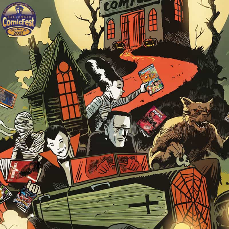 Halloween ComicFest 2017 - October 28th 2017
