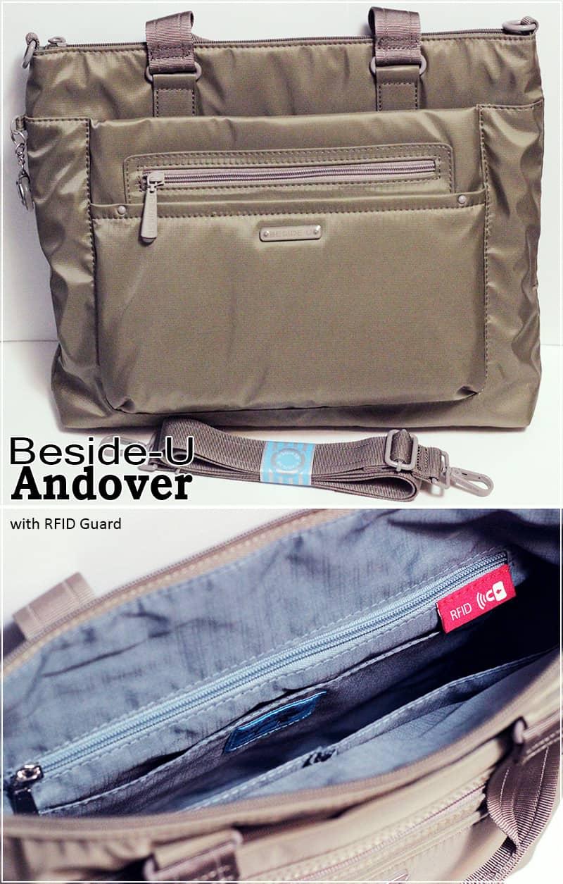 Beside-U Andover RFID Blocking Bag