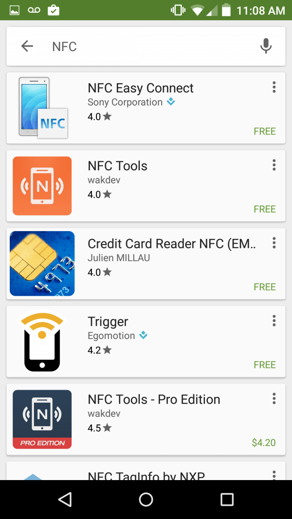 NFC Tools Available On Android