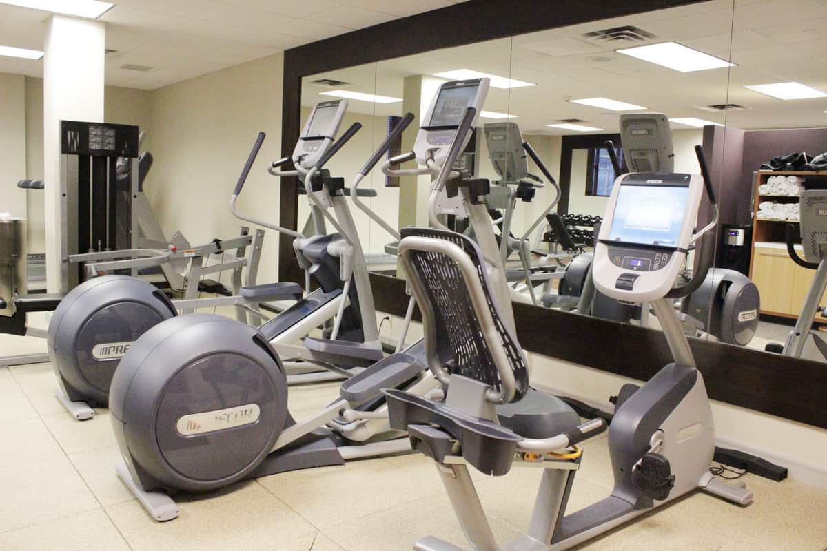 #BigWorldExplorer w/ @ExpediaCA - convenient fitness room