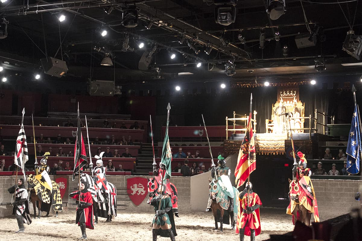 Medieval Times Tournament Six Knights