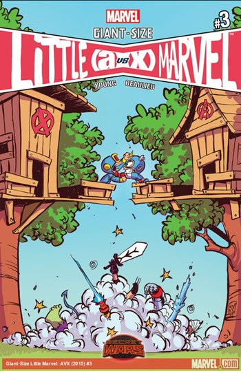 Skottie Young - Giant-Size Little Marvel #3