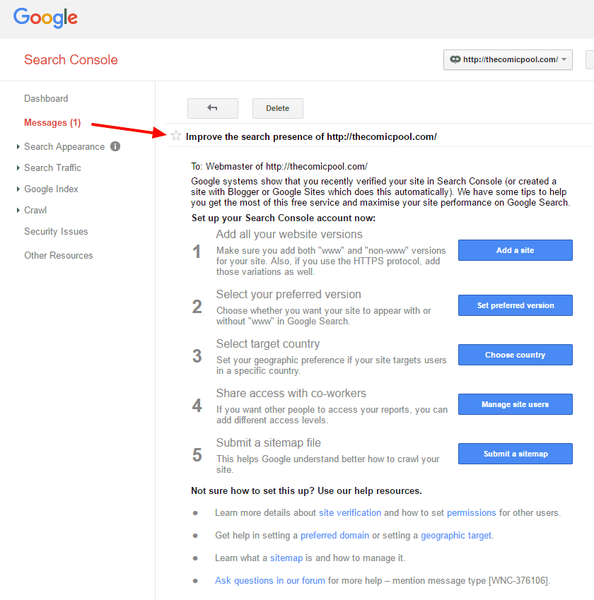 Improve Pageviews with Google Search Console: Step by step instructions on how to get started.