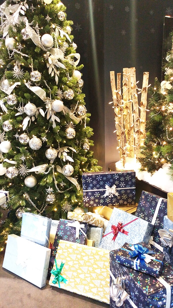 All the pretty papers you can find at the Yorkdale Avion Boutique Gift Wrapping table.