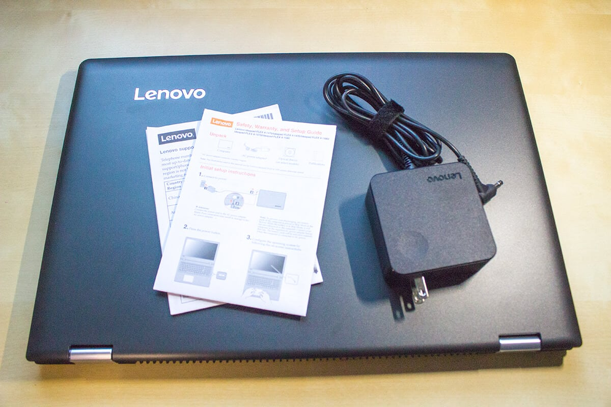 Lenovo ideapad FLEX 4 Intel Laptop unboxed and ready to go.