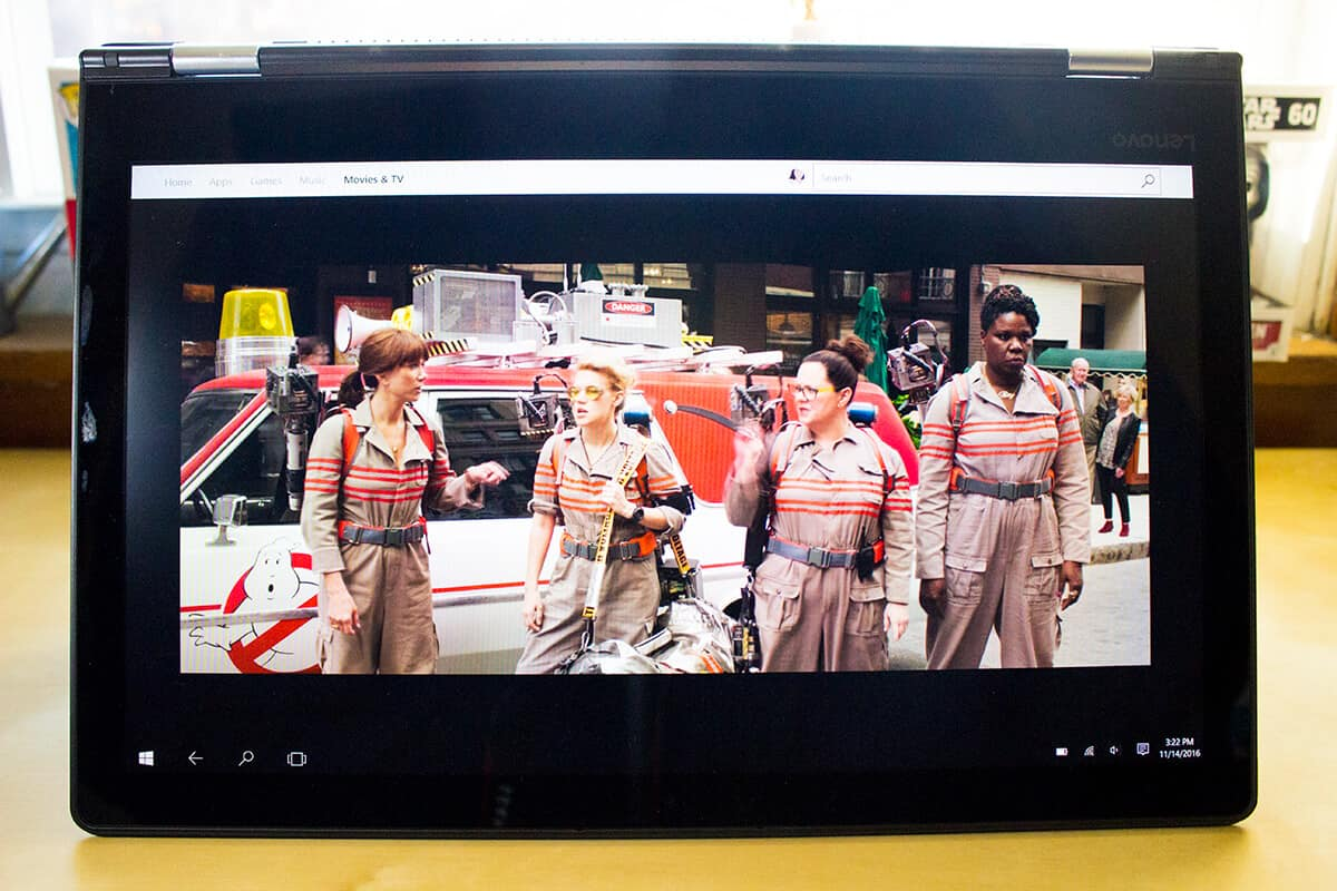 Lenovo ideapad FLEX 4 Intel Laptop: perfect way to watch 4K Ultra HD movies and TV.