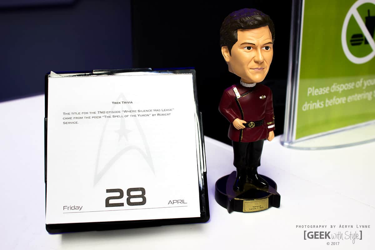 Star Trek Starfleet Academy Calgary - Captain Kirk Bobble Head