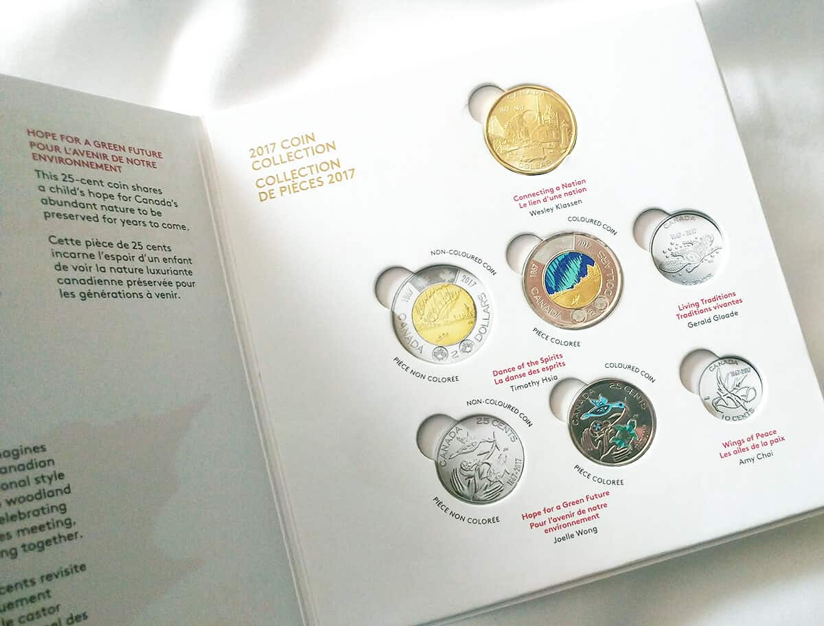 2017 Canada Coin Collection - Canada 150 Birthday Celebration