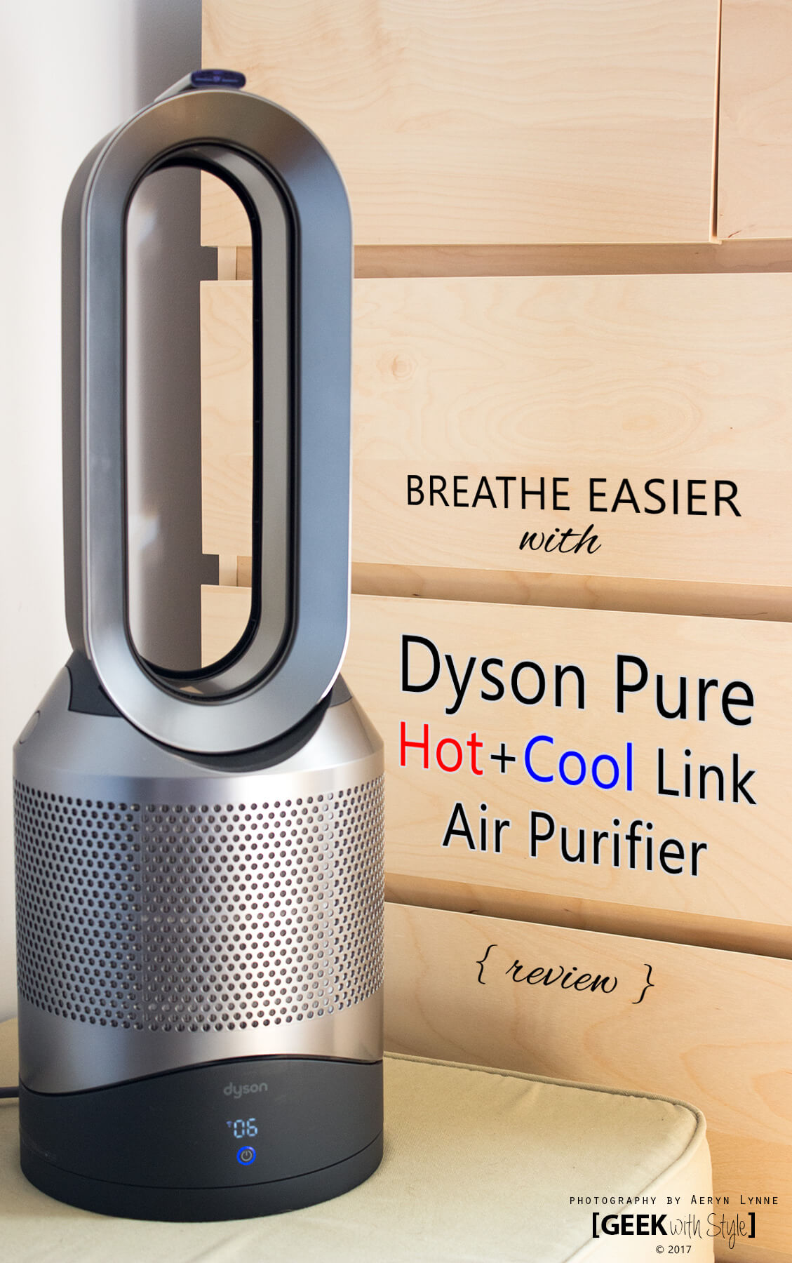 Dyson Pure HotCool Link Air Purifier PIN 1 | Geek Life: Augmenting Reality