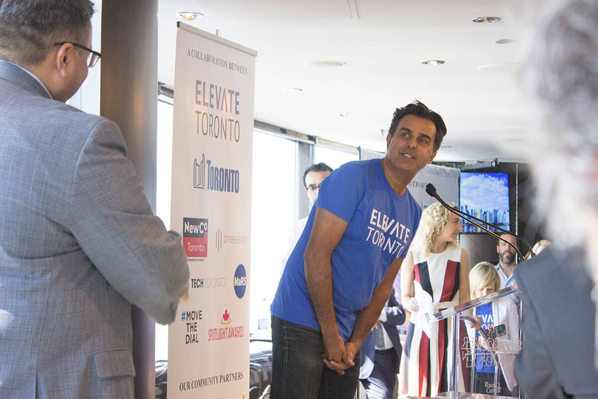 Razor Suleman- Elevate Toronto Leadership Team
