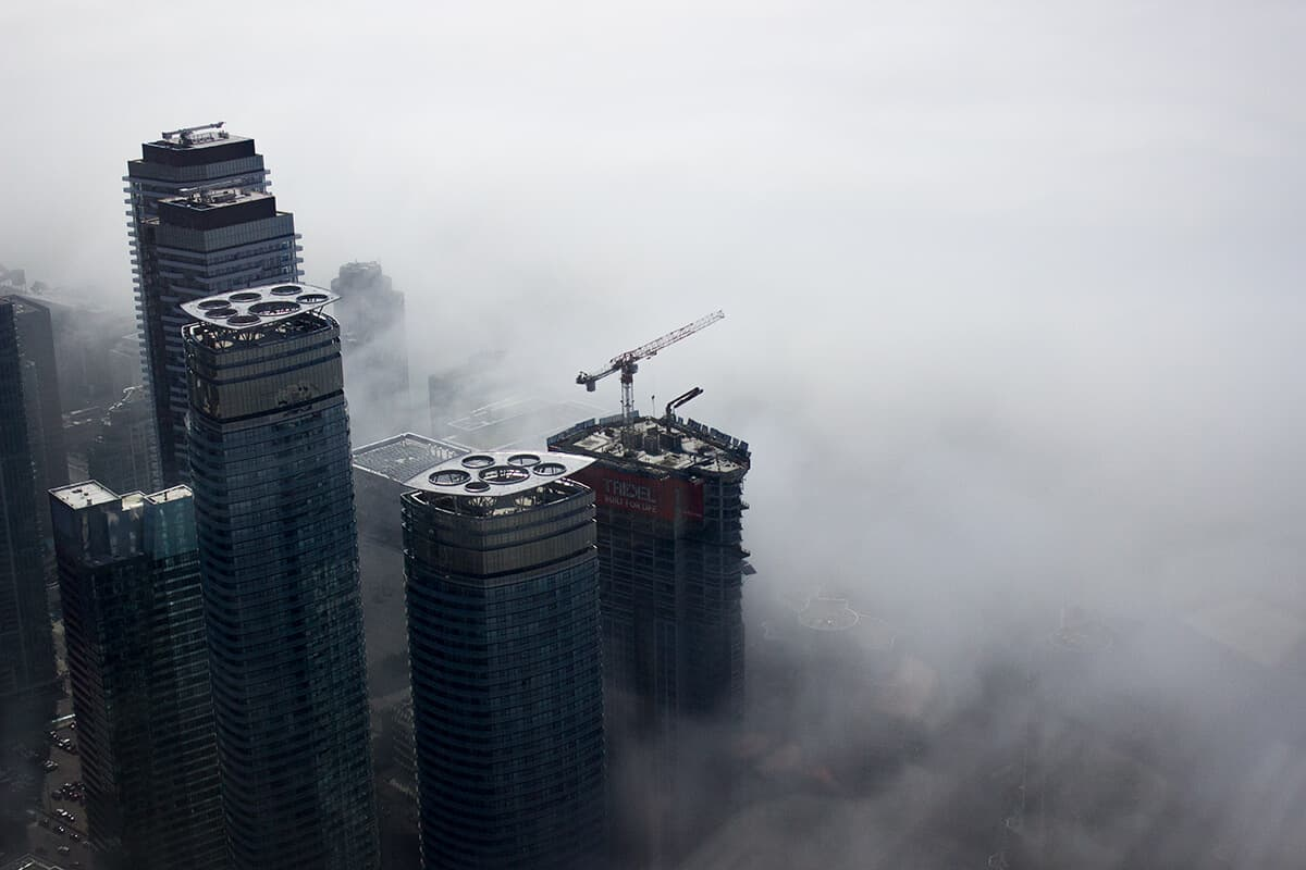Rise Above the Cloud Fog - Elevate Toronto