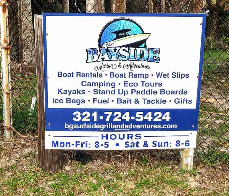 BGs Bayside Marina and Adventures Melbourne Florida