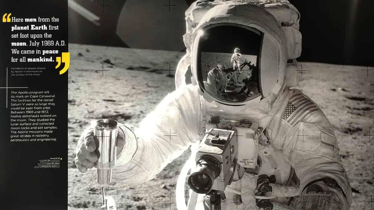 Exploration Tower NASA Space Floor Melbourne Florida