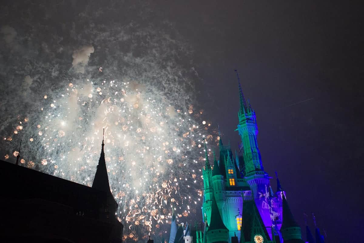 Mickeys Not So Scary Halloween Party Fireworks