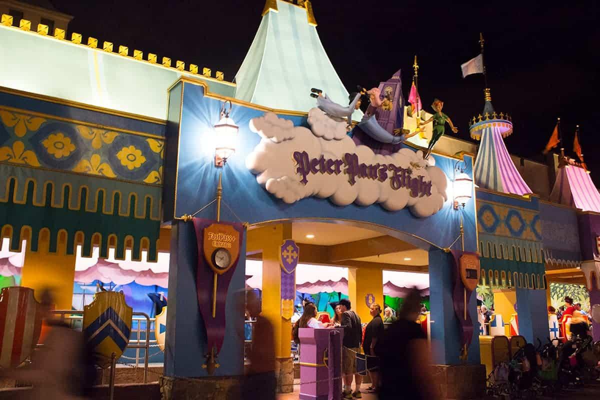 Mickeys Not So Scary Halloween Party Peter Pan's Flight