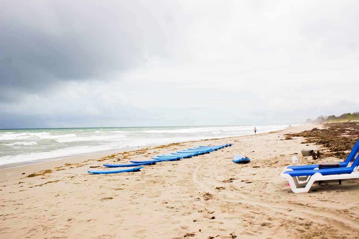 Sandy Beach and Surf Crowne Plaza Beach Oceanfront MLB Florida