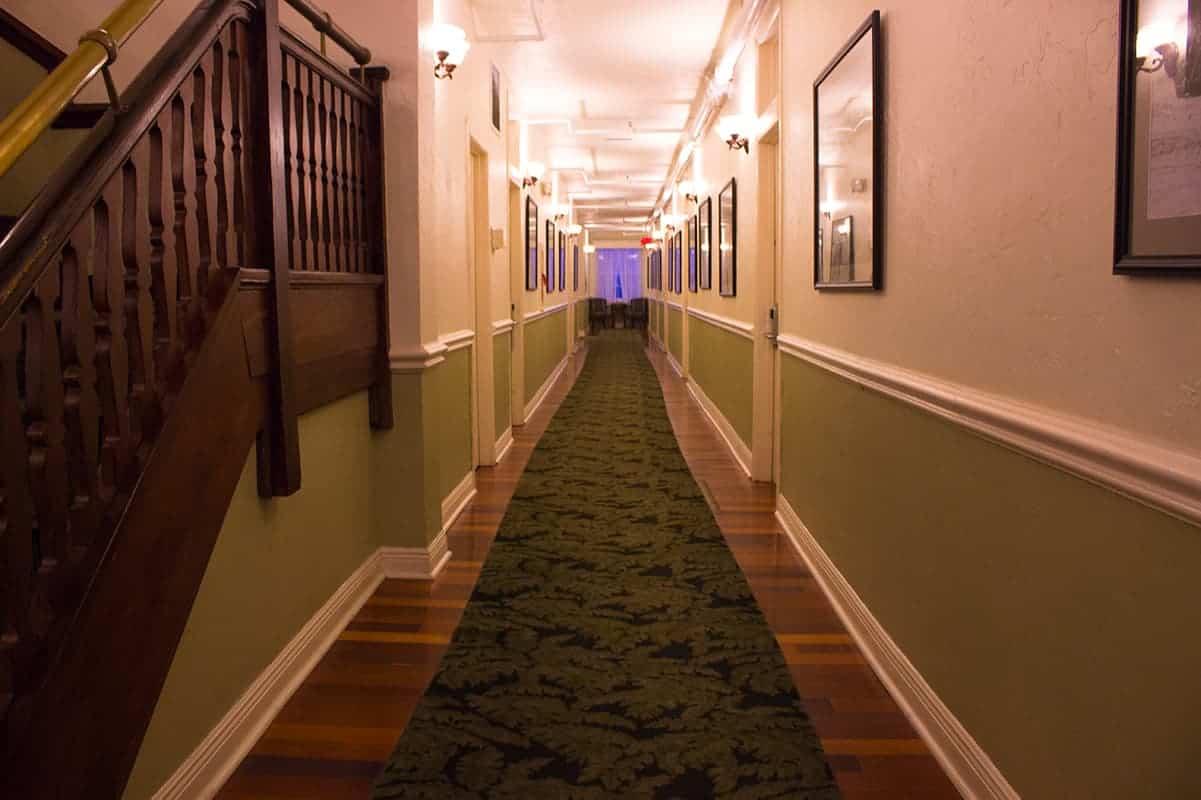 Casa Marina Hotel hallway Jacksonville Florida